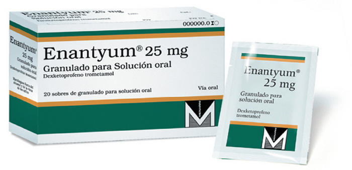 enantyum 25mg oral